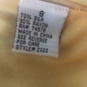 Cache Tops - Caché beaded multi color Silk Tassel Top